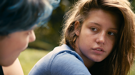 Blue Is the Warmest Color Film Still