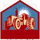 Tractor royalty free vector logo by patrimonio 936