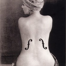 Man ray violon