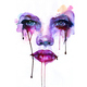 Art girl illustration painting purple watercolor favim.com 64694 large