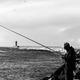 Pescatore in attesa