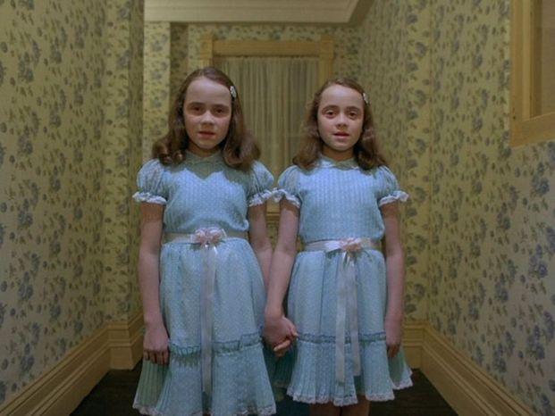 Bambine gemelle shining