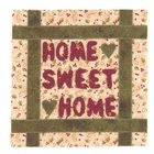 Home sweet home quilt block 3