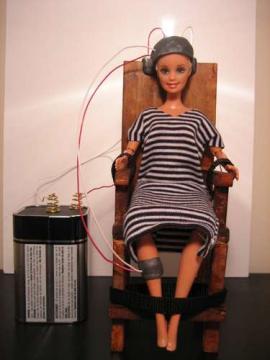 Barbie in elec chair 270x360