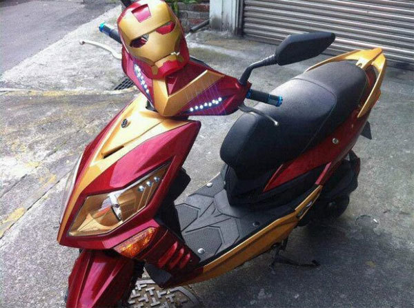 Iron man scooter