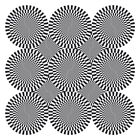 Op art writhing circles
