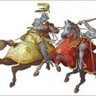 8253264 cavalieri torneo vector