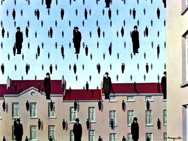 Magritte golconda