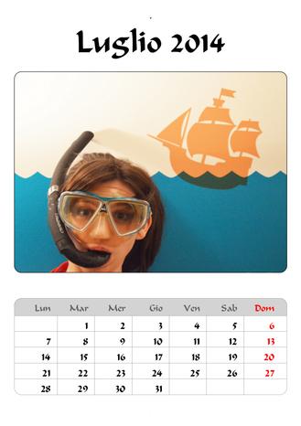 Calendario 7 2014
