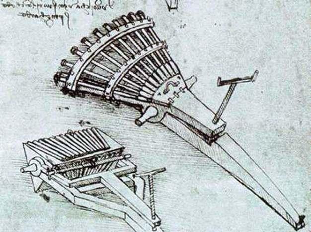 Progetto organo leonardo da vinci