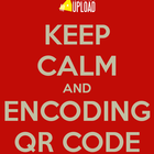 Keep calm and encoding qr code 1