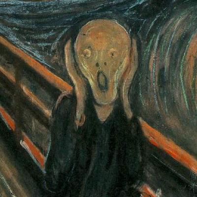 Munch scream detail
