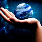 Got the whole world in my hand by jamesbensonart