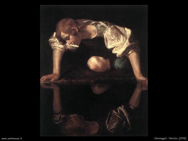 Caravaggio 121 narciso 1598