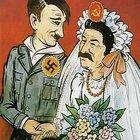 Caricatura patto germano sovietico