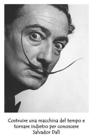 Portrait of salvador dali 1954