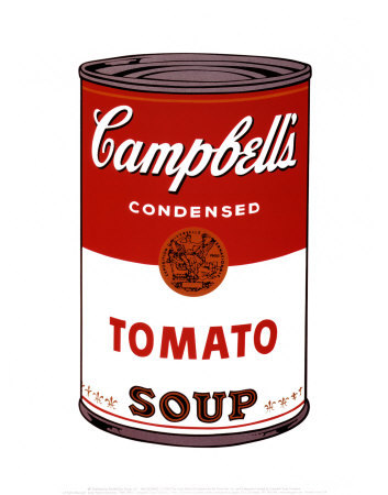 Campbell s soup i 1968 posters