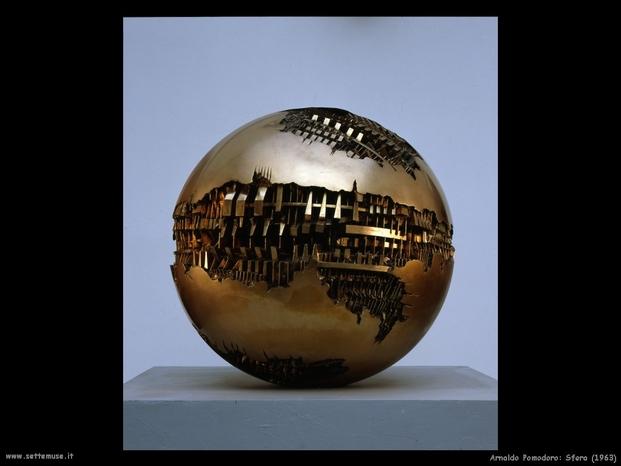 Arnaldo pomodoro 004 sfera 1963