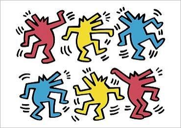 Img untitled  dancing dogs  keith haring ref cp2841 mode zoom