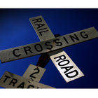 Rail road crossing by jim100bg