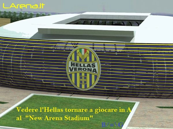 the new arena stadium