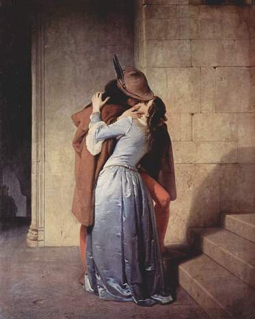 Francesco hayez il bacio