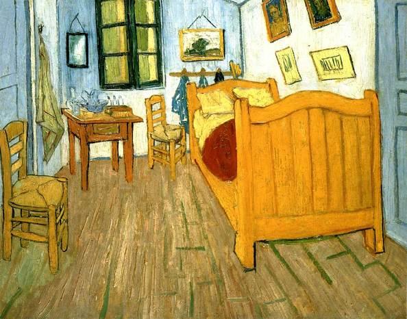 Vangogh camera letto