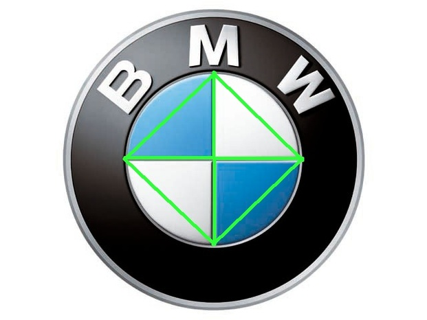 First bmw logo
