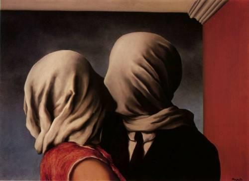 Magritte les amants