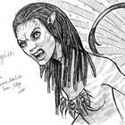 Neytiri roar by jilley