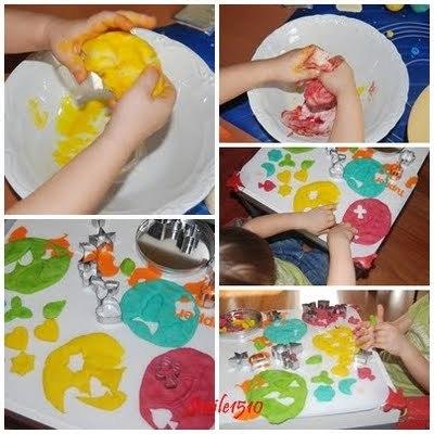 Giochi per bambini ricetta del pongo fatto in casa
