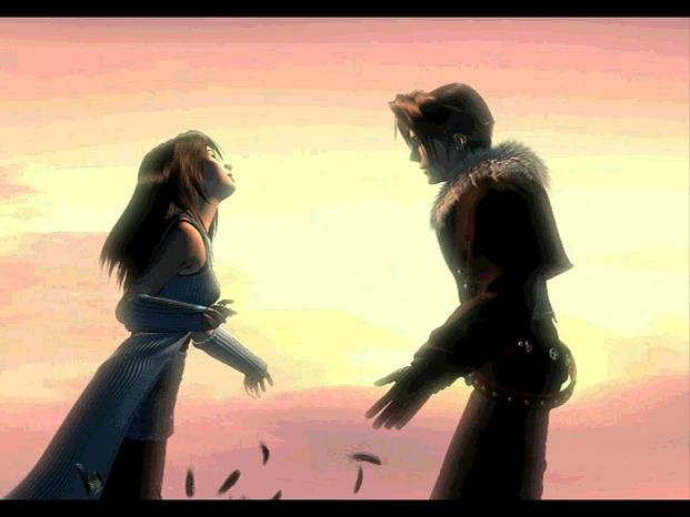 Rinoa squall sunset