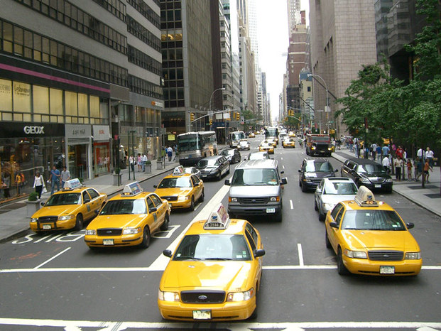 New york 2006 058taxi