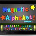 Magnetic 20alphabet