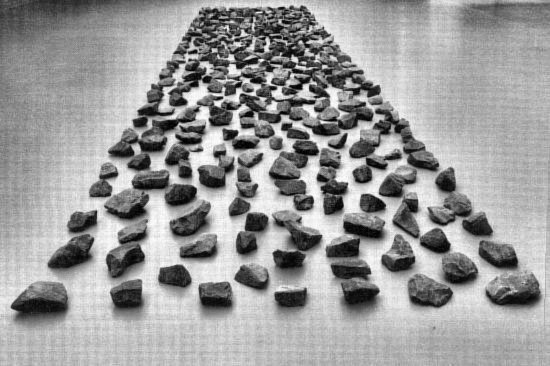 Richard long   strada d artista