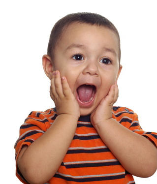 Surprised little boy1