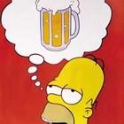 Homer simpson birra