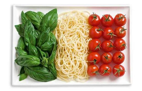 Italy food flags