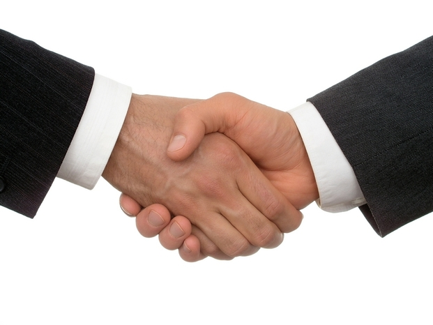 How to shake hands