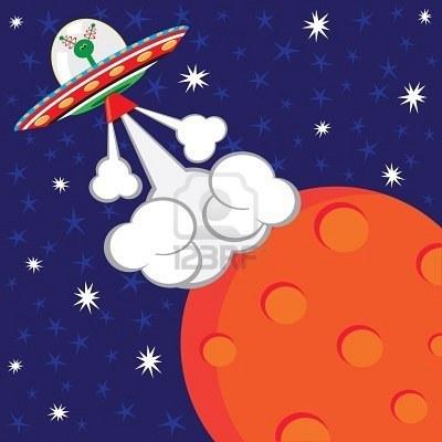 8925603 festa di compleanno di partono astronave aliena