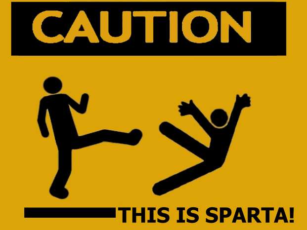 Caution this is sparta v2 by r0adki11