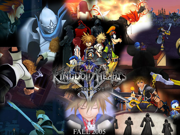 Kingdom hearts ii teaser poster 2