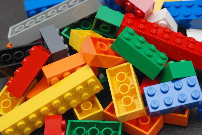 Lego color bricks