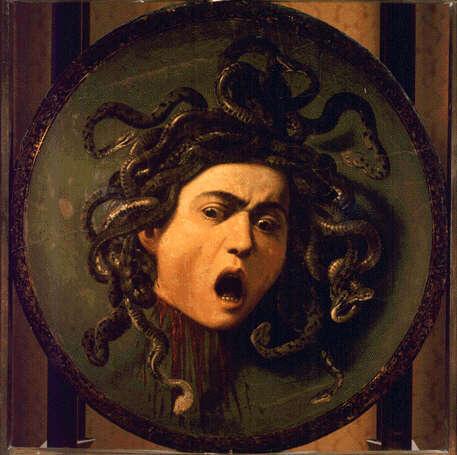 Medusa caravaggio.