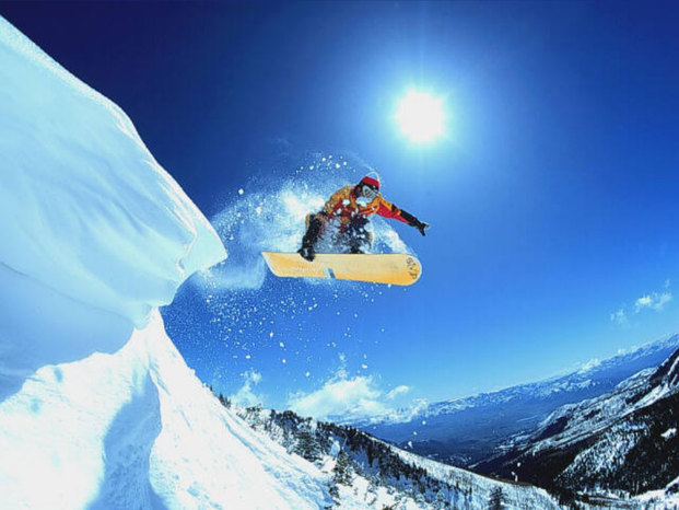 Sfondi snowboard 6
