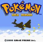 Pokemon gold title screen artwork