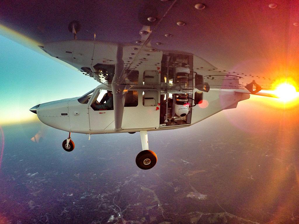 LodeStar16 test flight