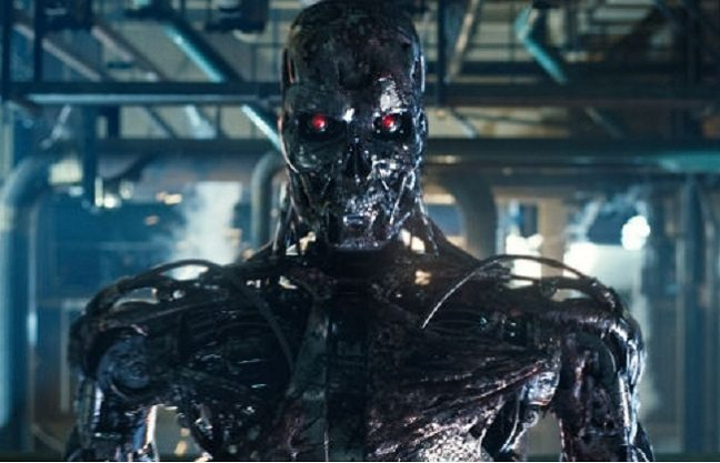 El famoso androide Cyberdyne Systems T-800, de Terminator.