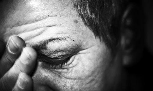 Migräne geht mit starken Kopfschmerzen einher