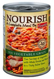 Campbell Soup's Nourish: Meal in a Can